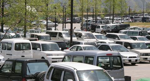 駐車場が…_b0219267_20354749.jpg