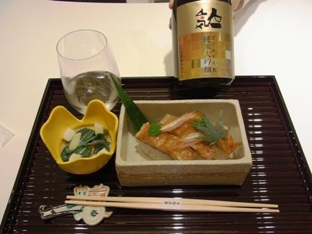 大阪三越伊勢丹でいただく、名店の小料理と日本酒のマリア―ジュ_a0138976_19425333.jpg