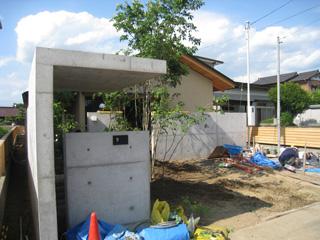 「和田の家」植栽工事_b0179213_2104761.jpg