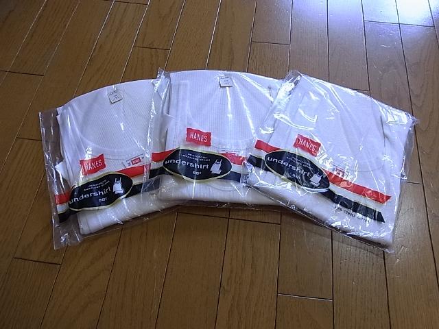 6/25(土)入荷商品!70'S HANES デッドストック タンクトップ!_c0144020_13593239.jpg