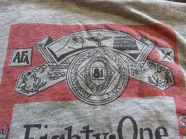 6/25(土)入荷商品!U.S AIR FORCE アカデミー Tシャツ! _c0144020_15192174.jpg