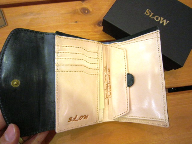 "SLOW ""bridle (3 hold wallet)\"" 入荷!_f0191324_8534512.jpg"