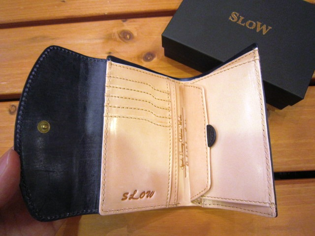 "SLOW ""bridle (3 hold wallet)\"" 入荷!_f0191324_8541838.jpg"