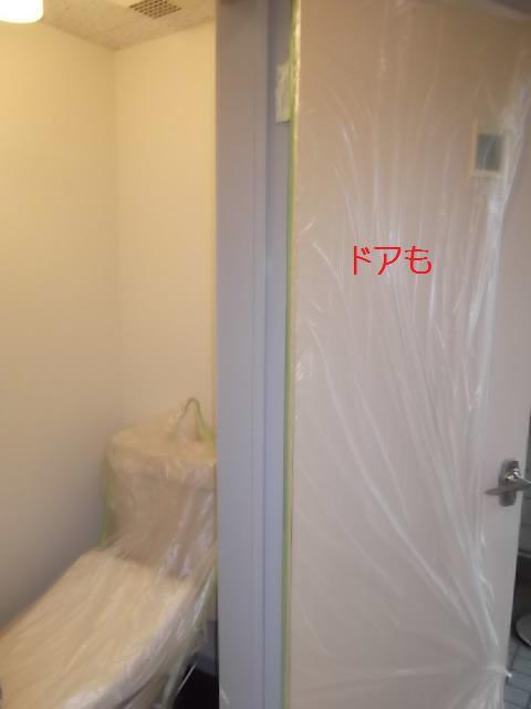 塗装仕上げ確認と1階トイレ塗装_c0186441_2043350.jpg