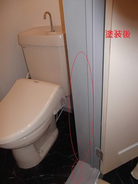 塗装仕上げ確認と1階トイレ塗装_c0186441_206392.jpg