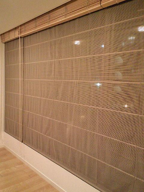 木製ブラインドとシャープシェードの組み合わせ『フジエテキスタイル』_c0157866_18584332.jpg