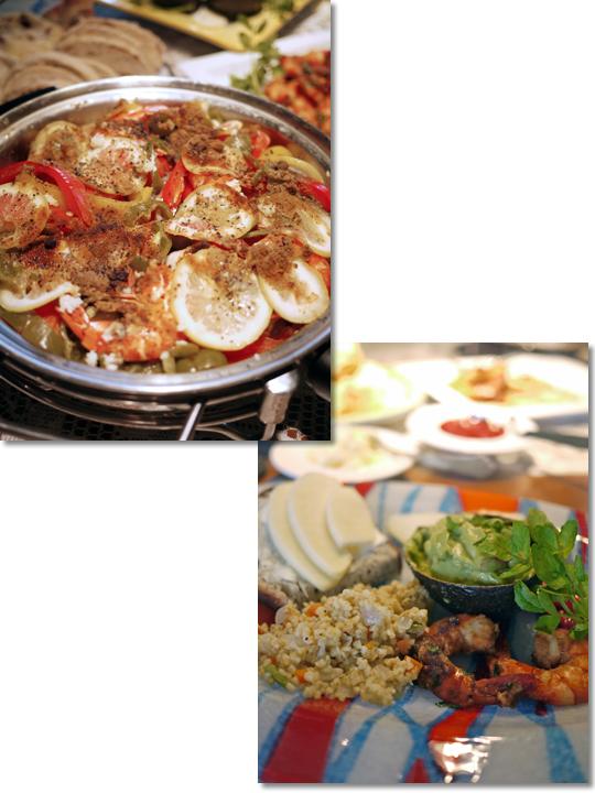 魅惑のモロッコ料理!_d0133320_1122669.jpg