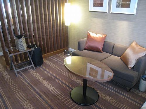5月 ホテルオークラ福岡 コーナーデラックス ベッドルーム_a0055835_16403477.jpg