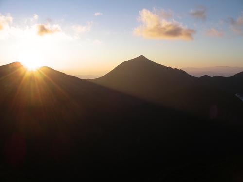 西岳から見た常念です_f0219043_21211076.jpg