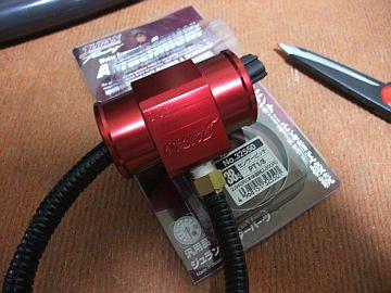 水温センサーの取り付け♪_e0146484_19383639.jpg