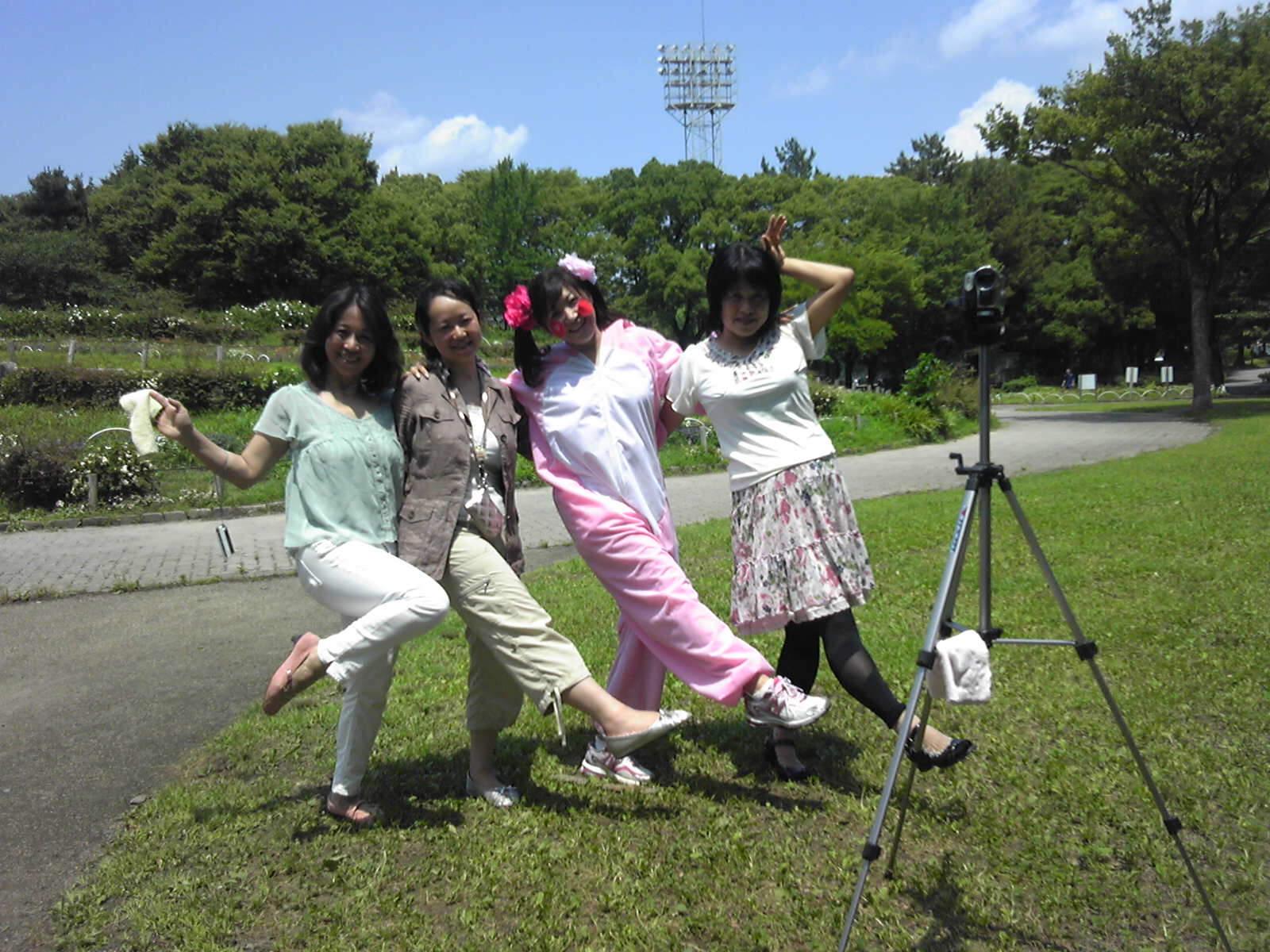 プロモーションビデオ撮影→ JICAへ。_e0142585_1345895.jpg