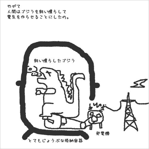 6/25 ゴジラ発電_a0120304_318654.jpg