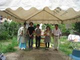「天神塚の家」地鎮祭_b0179213_1626443.jpg