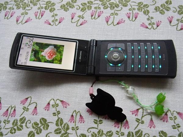 中古の携帯を貰った!_f0012718_188574.jpg