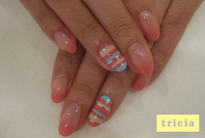 ☆HAPPY SUMMER  nail☆_c0071924_11124165.jpg
