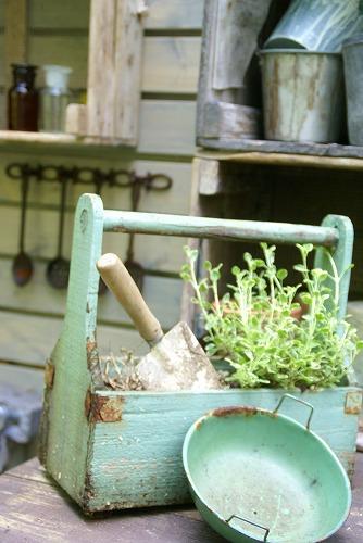 庭が雑貨屋さんみたいに大変身!_d0083761_1957177.jpg