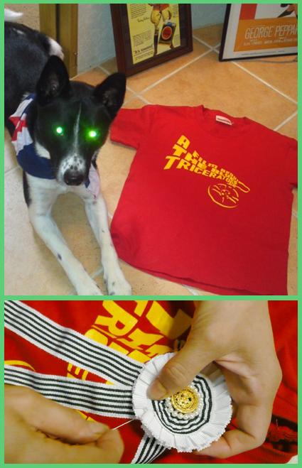 赤Tシャツで暑気払い。♪~~♪・・_e0236072_11492329.jpg