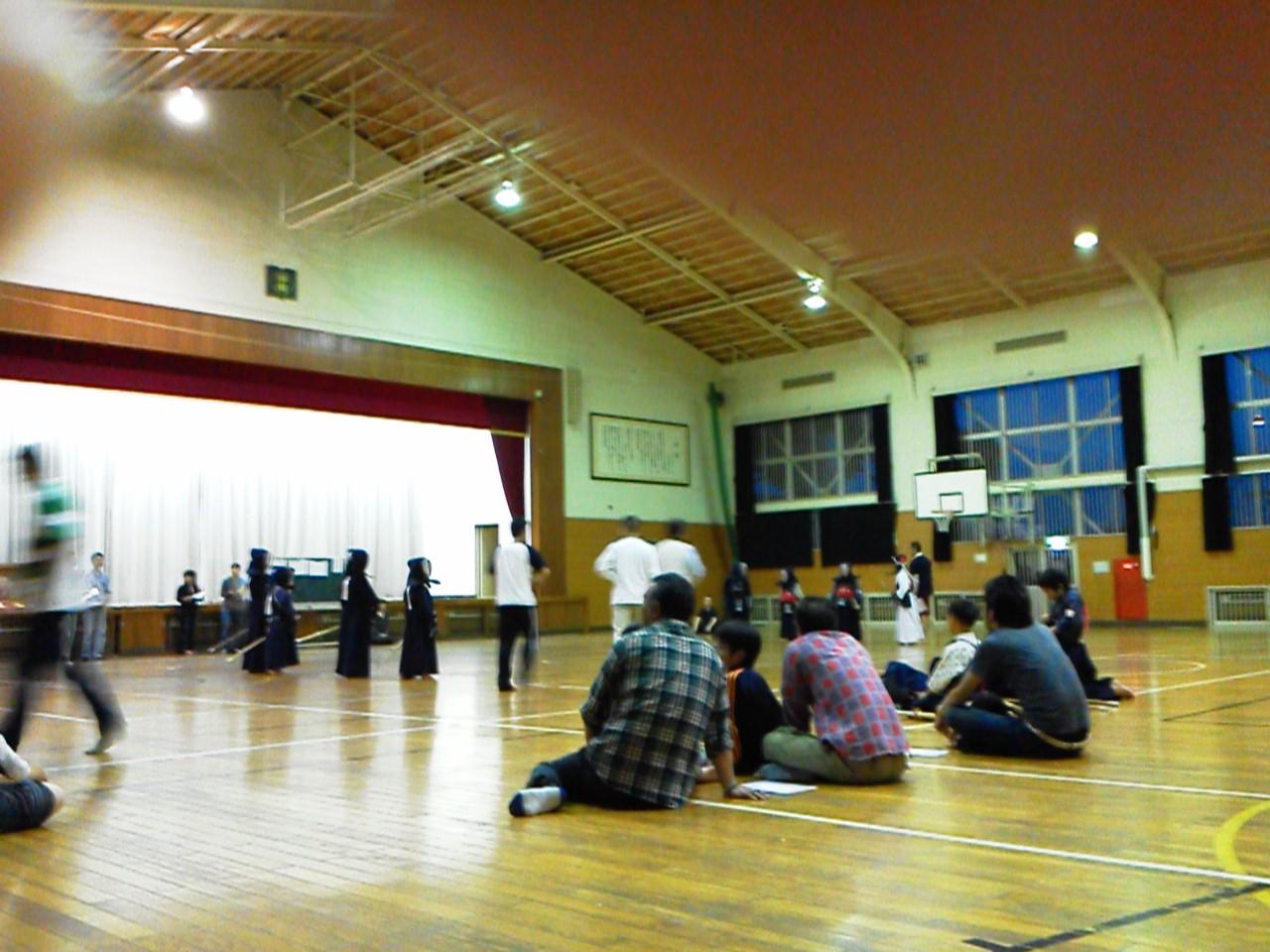 昨日剣道の月例(練習試合)がありました。_f0150893_99510.jpg