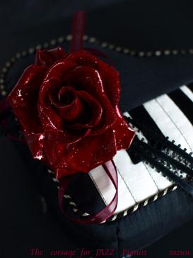 JAZZ ピアニスト♪コサージュ_d0144095_1561087.jpg