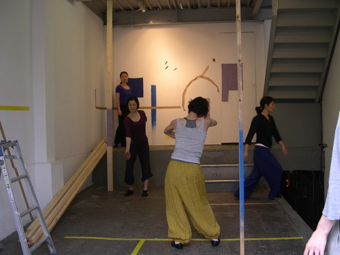 「ダンスと絵のセッション」廣田あつ子(ダンサー)+泉イネ+DSS 開催中です_c0164399_15154672.jpg