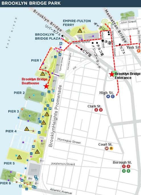 ブルックリン・ブリッジ・パークでカヤック遊びを無料で楽しめます_b0007805_2334526.jpg