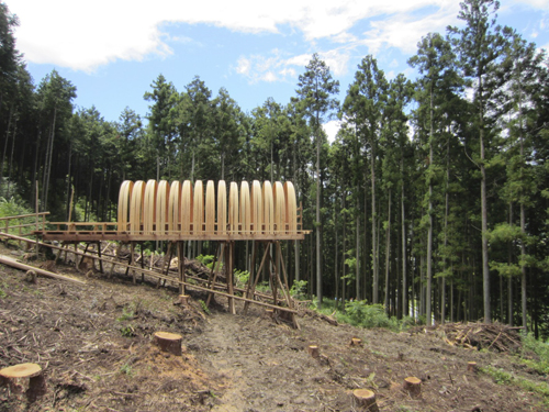 アートピクニック やま編 2011フィールドワーク「山の基地」_e0203309_20534935.jpg