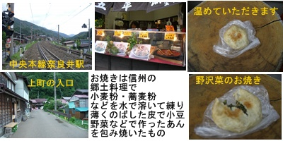 「おひさま」コース(奈良井宿・松本・安曇野)と白馬・栂池 その1_a0084343_15292629.jpg
