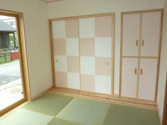 遠賀郡水巻町にて・・・和室完成!_b0112371_15554979.jpg