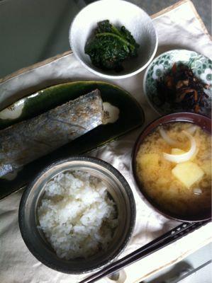 太刀魚の塩焼き_d0235108_719457.jpg