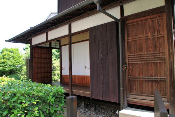 桂小五郎 像と旧邸_e0048413_21184797.jpg