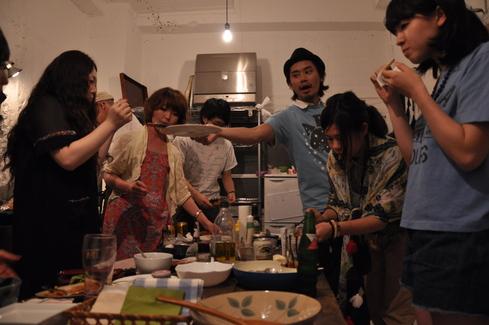 2011.6.25 アルパカ食堂 vol.3 〜古本とガレットの夜2〜_a0184716_1465575.jpg