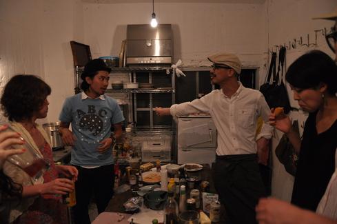 2011.6.25 アルパカ食堂 vol.3 〜古本とガレットの夜2〜_a0184716_1475180.jpg