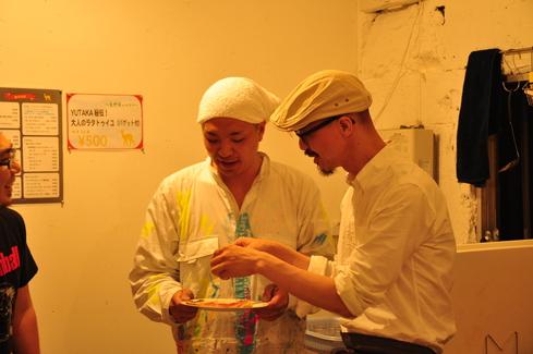 2011.6.25 アルパカ食堂 vol.3 〜古本とガレットの夜1〜_a0184716_1542051.jpg