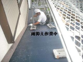 土壁剥落と屋根工事と・・・_f0031037_200335.jpg