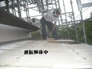 土壁剥落と屋根工事と・・・_f0031037_2014084.jpg