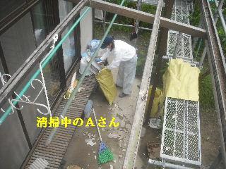 土壁剥落と屋根工事と・・・_f0031037_202112.jpg