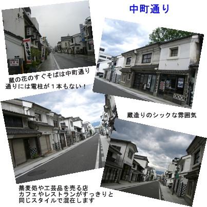 「おひさま」コース(奈良井宿・松本・安曇野)と白馬・栂池 その2_a0084343_1955578.jpg