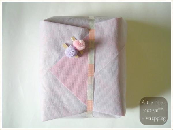 wrapping  ** 数種のタオル **_b0155684_18525065.jpg