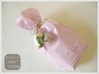 wrapping  ** 数種のタオル **_b0155684_1942261.jpg