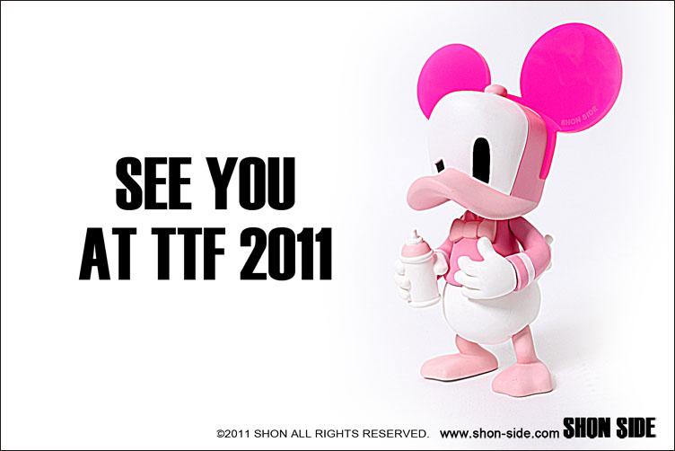 TTF 2011限定Cap Duck Pink。_a0077842_0292843.jpg