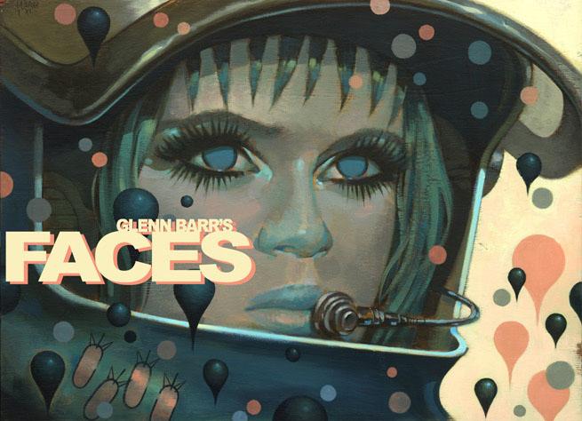 グレン・バールの新画集、Glenn Barr\'s Faces近日入荷。_a0077842_2133013.jpg
