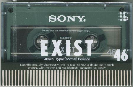 SONY EXIST (色違い)_f0232256_11435150.jpg