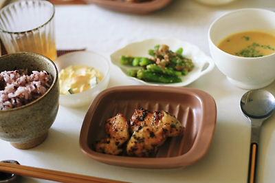 【おうちcafe & 冷製スープ】_f0238584_1526759.jpg