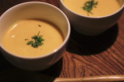 【おうちcafe & 冷製スープ】_f0238584_15284538.jpg