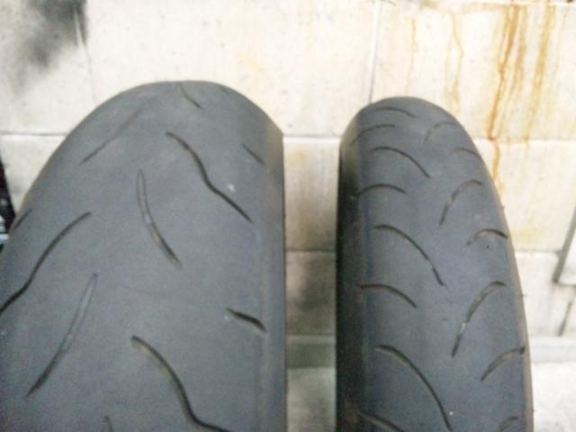 タイヤ交換しました。_a0169121_16262670.jpg