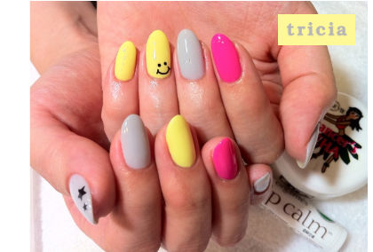 ☆Happy Summer nail 2 ☆_c0071924_18585934.jpg