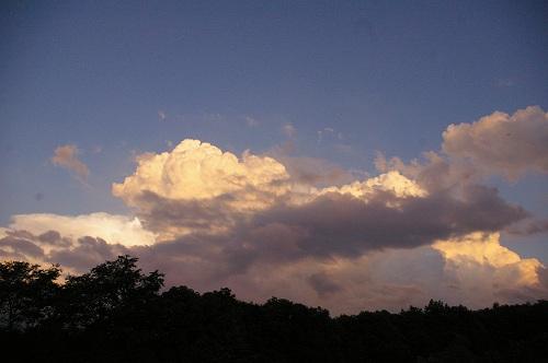 夕日をながめる_b0174425_13435793.jpg