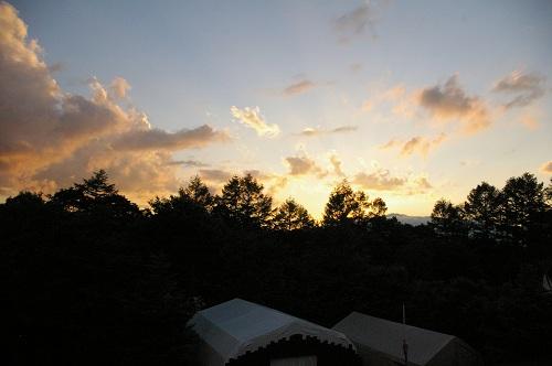 夕日をながめる_b0174425_13505011.jpg