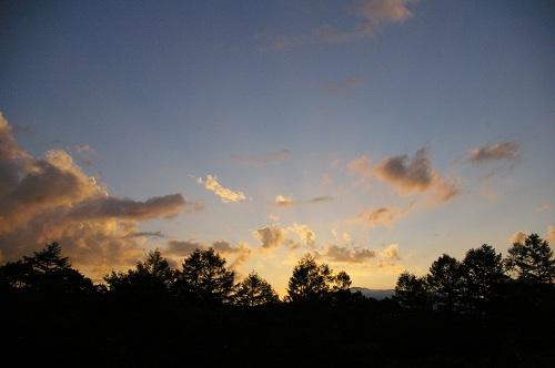 夕日をながめる_b0174425_13514885.jpg