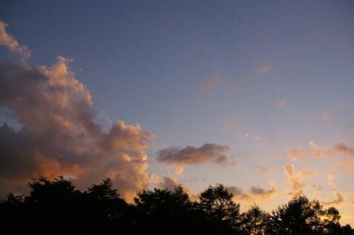 夕日をながめる_b0174425_1352557.jpg